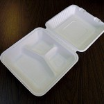 """9"""" Take Out Container, Device  A-SH09-3 W9"""" × L9"""" × H3-¼"""""""