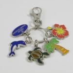 5 Shaped Keychain